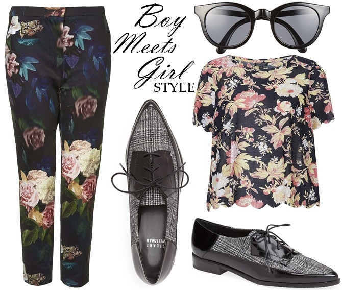 how wear oxford matching prints2