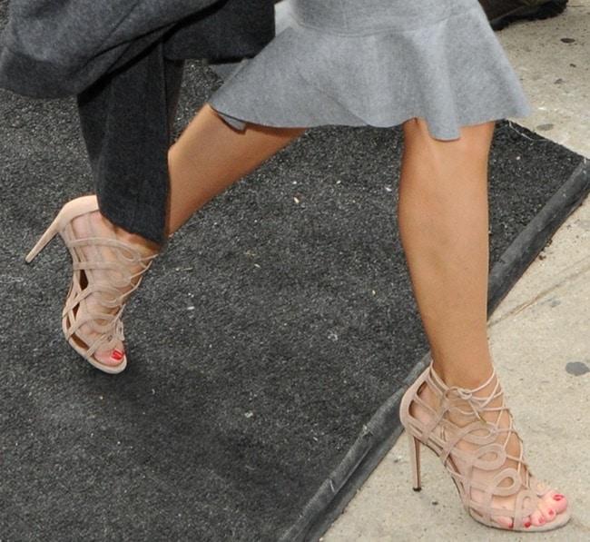 Carolina Herrera Fashion Show Outside Arrivals