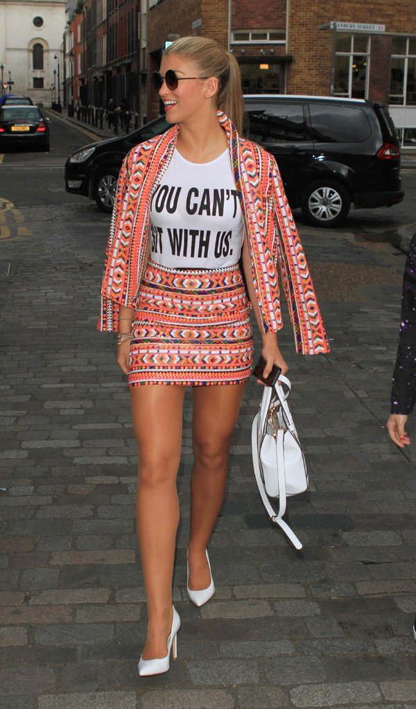 Amy Willerton Pays Homage to 'Mean Girls'