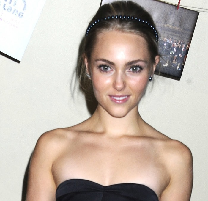 AnnaSophia Robb at the 2014 Lang Lang & Friends Gala held at United Nations in New York City on October 24, 2014