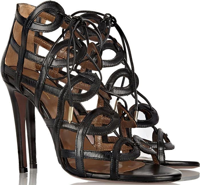 Aquazzura-Olivia-Palermo-Cutout-Leather-Sandals