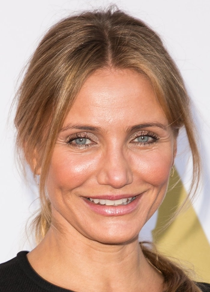 Cameron Diaz at the Academy of Motion Picture Arts and Sciences' Hollywood Costume Luncheon at Wilshire May Company Building in Los Angeles on October 8, 2014