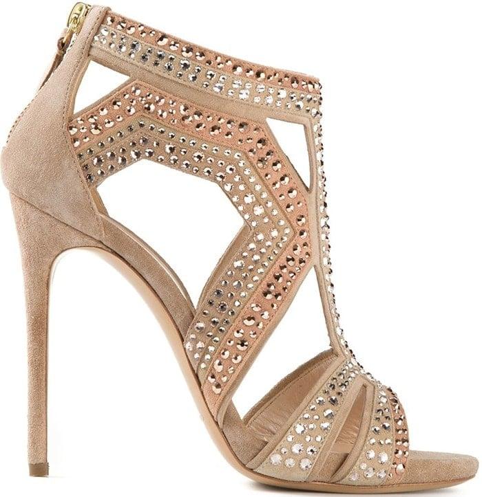 Casadei embellished sandals