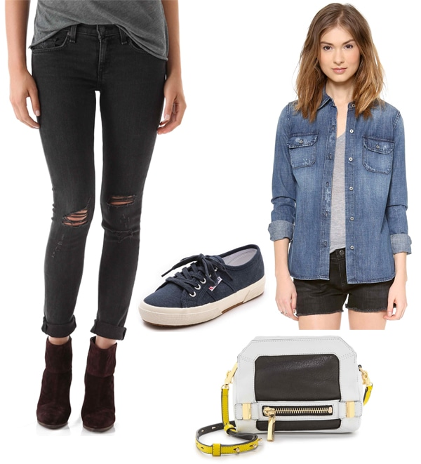 Chloe Moretz inspired outfit