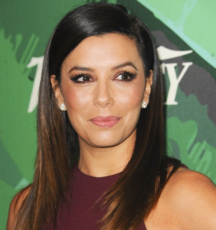 Eva Longoria at the 2014 Variety Power of Women event presented by Lifetime at the Beverly Wilshire Four Seasons Hotel in Los Angeles on October 10, 2014
