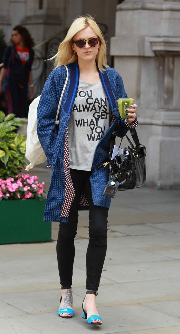 Fearne Cotton Bursts Our Bubble With Realistic Shirt Slogan