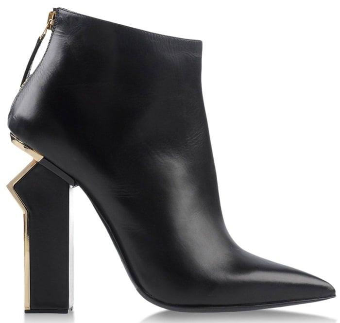 Gianmarco Lorenzi Black Ankle Boots