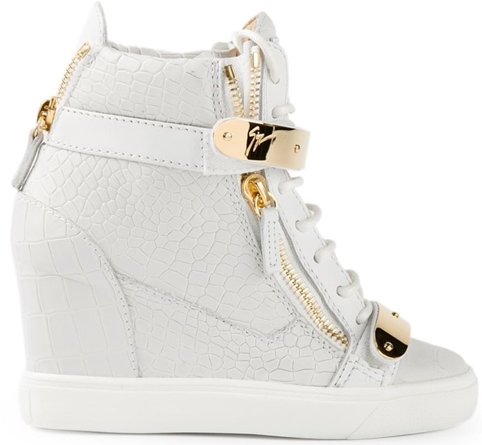 Giuseppe Zanotti Design wedge hi-top sneakers
