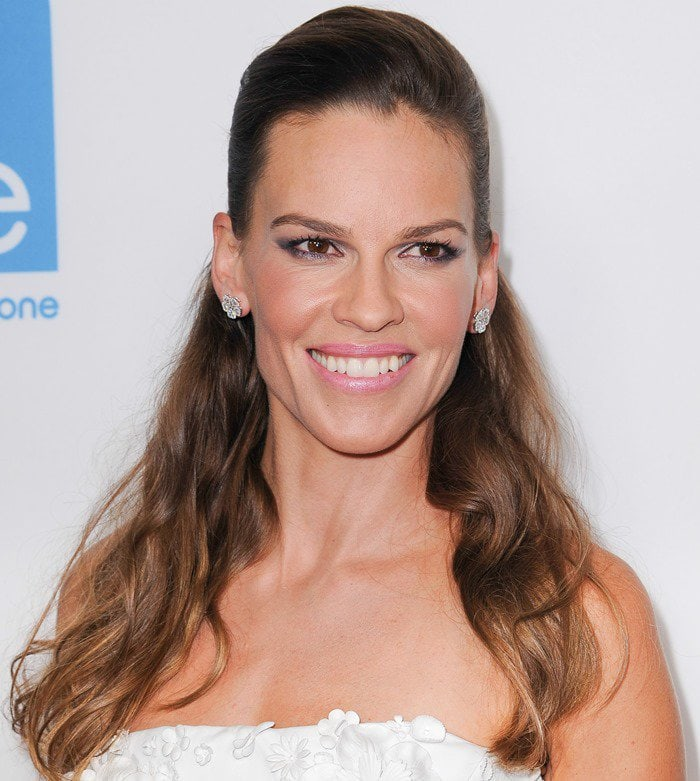 Hilary Swank at the premiere of You're Not You