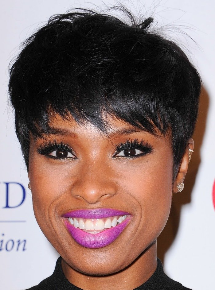 Jennifer Hudson at the 2014 Fulfillment Fund Stars Benefit Gala at The Beverly Hilton in Beverly Hills on October 14, 2014