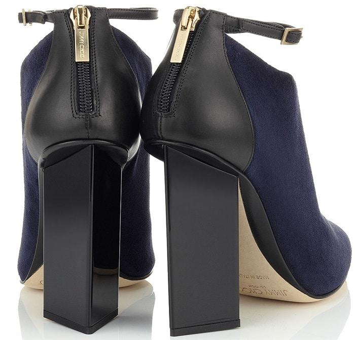 Jimmy Choo Blue Vanish Heels