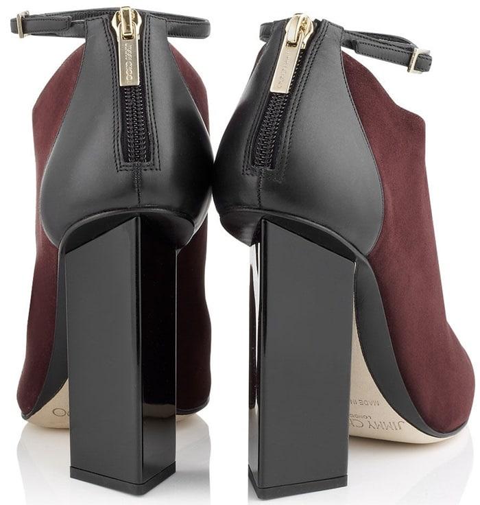 Jimmy Choo Brown Vanish Heels