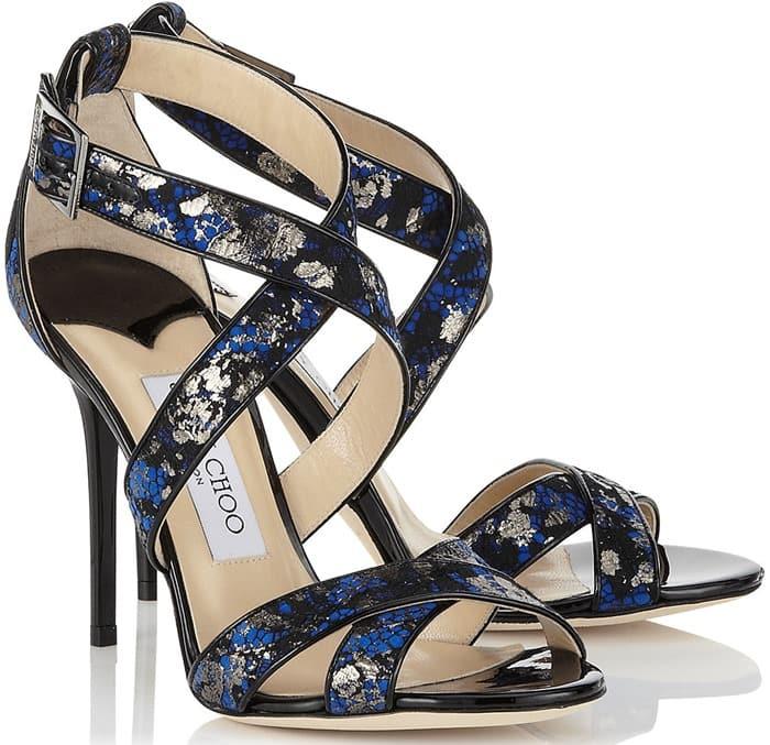 Jimmy Choo Sequined Lottie Sandals