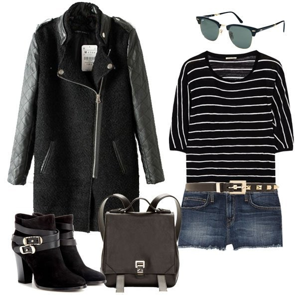 Outfit Idea: How to Wear a Striped Sweater