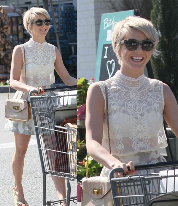 Julianne Hough shows off her cute pixie cut