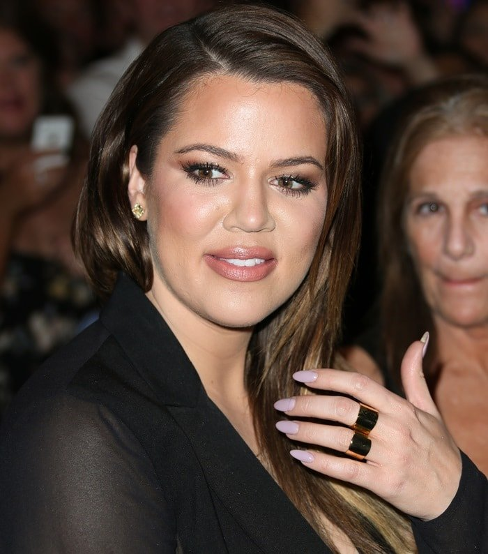 Khloe Kardashian at the Tao Nightclub at The Venetian Las Vegas in Las Vegas on October 25, 2014
