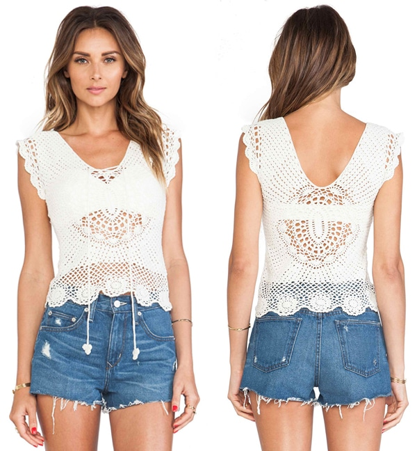 Lisa Maree First In Line Crochet Top