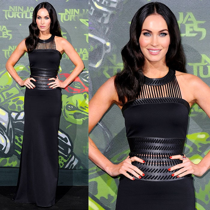 Megan Fox at the German premiere of 'Teenage Mutant Ninja Turtles' at UFO Sound Studios at Musikbrauerei in Berlin, Germany, on October 5, 2014
