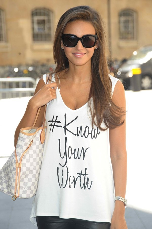 Michelle Keegan sure knows her social media rules