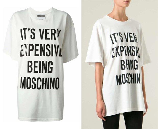 Moschino Oversized Printed T-Shirt