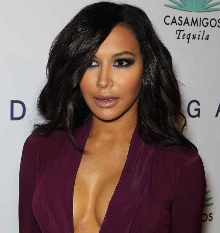Naya Rivera channeledKim Kardashian at Brian Bowen Smith's Wildlife Show held at the De Re Gallery in West Hollywood on October 23, 2014