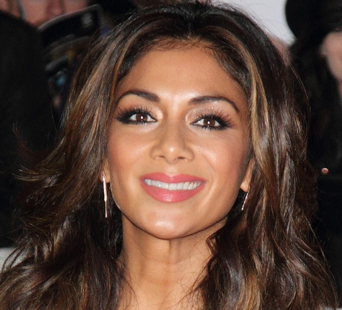 Nicole Scherzinger at the MOBO Awards at Wembley Arena in London, England, on October 22, 2014