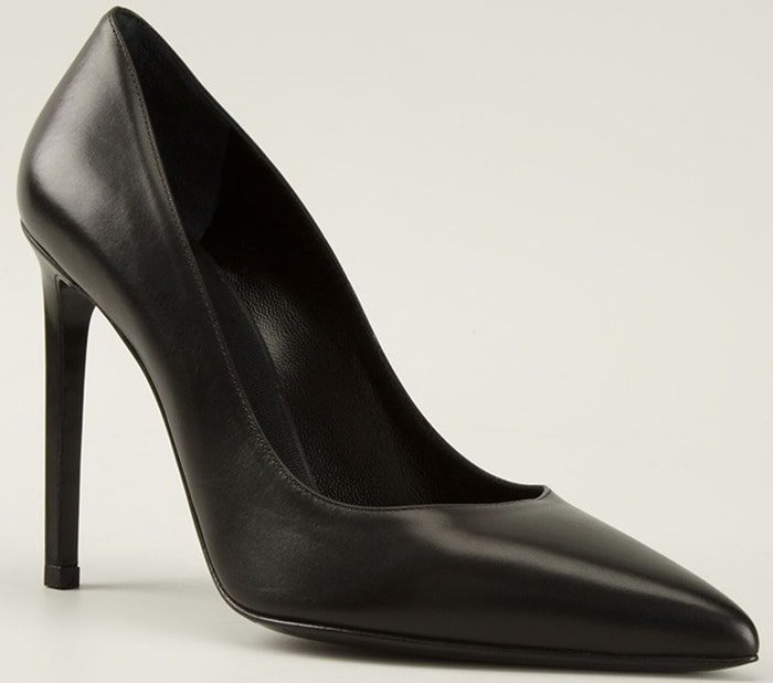 Saint Laurent Black Paris Pumps