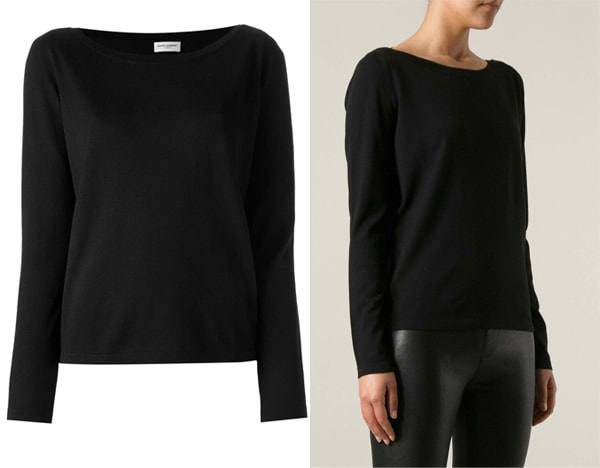 Saint-Laurent-Knitted-Sweater