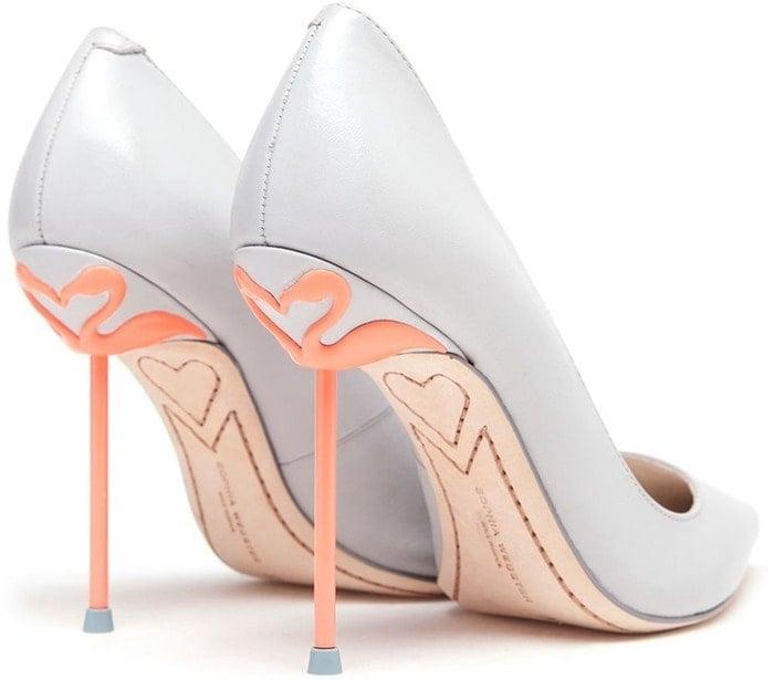 Sophia Webster Coco Lunar Flamingo Pumps
