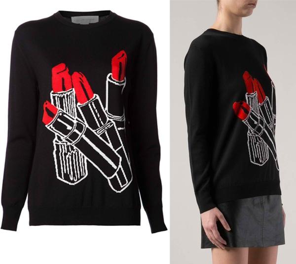 Stella-McCartney-Lipstick-Sweater