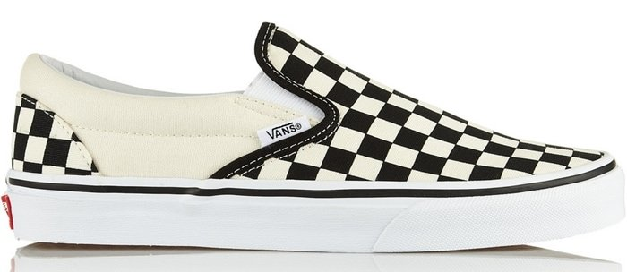 Vans Checked Canvas Slip-on Sneakers
