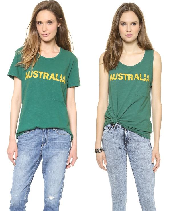 Australia Bowery Tee and Australia Dean Tank