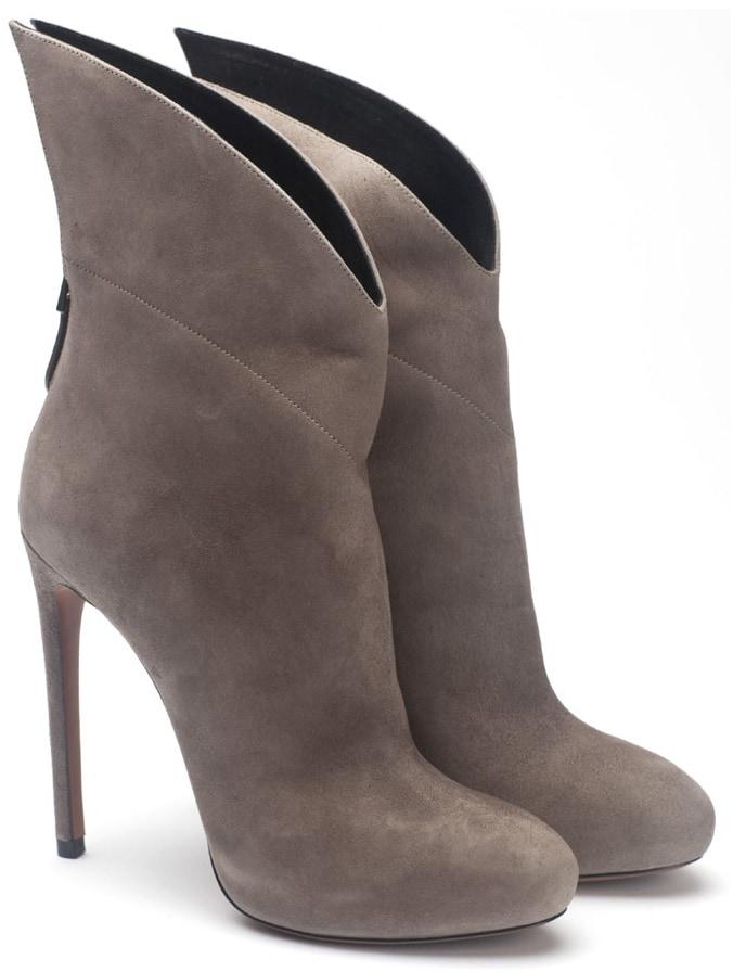 Alaïa wing tip boots
