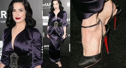 Dita Von Teeses Sexy Feet And Flawless Legs In Hot High Heels