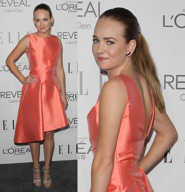 Britt Robertson at the 2014 ELLE Women In Hollywood Awards