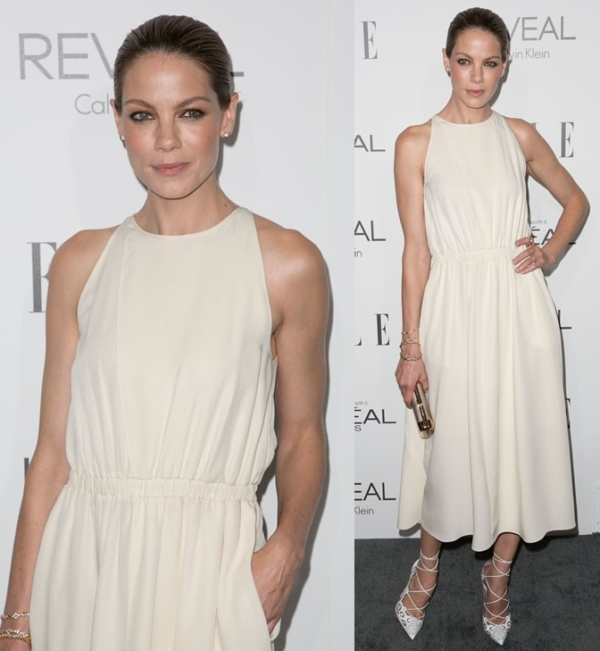 Actress Michelle Monaghan attends the 2014 ELLE Women In Hollywood Awards