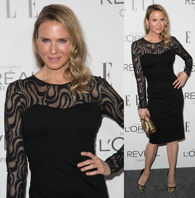 Actress Renee Zellweger attends the 2014 ELLE Women In Hollywood Awards
