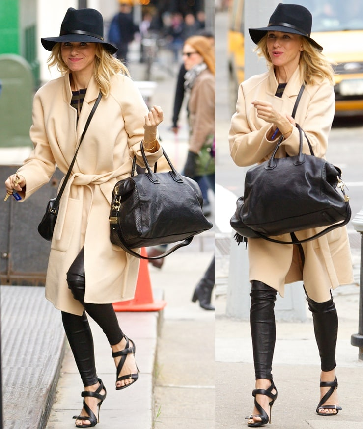 Naomi Watts looking chic while out and about in New York City on October 20, 2014