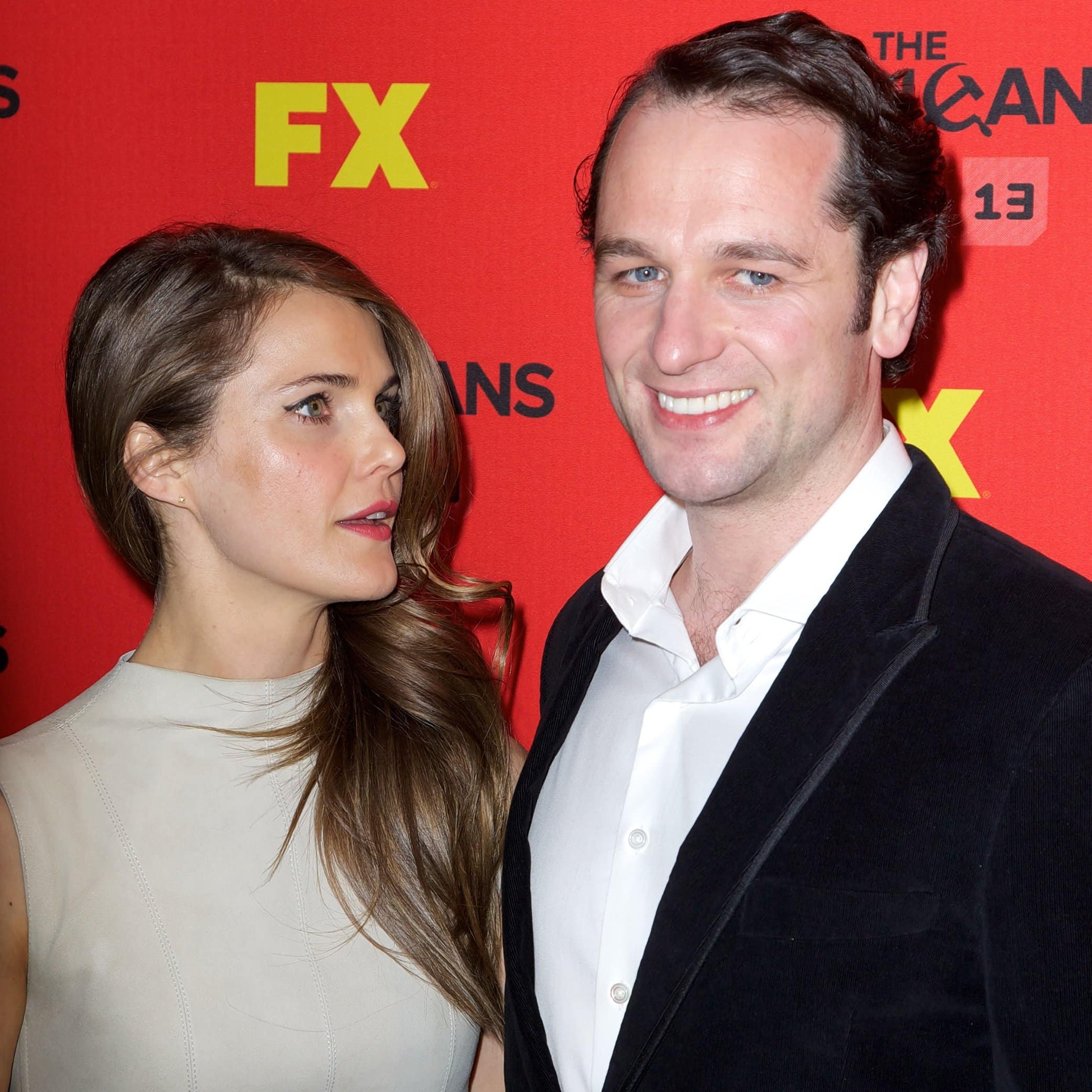 """Actors Keri Russell and Matthew Rhys attend FX's """"The Americans"""" Season One New York Premiere"""