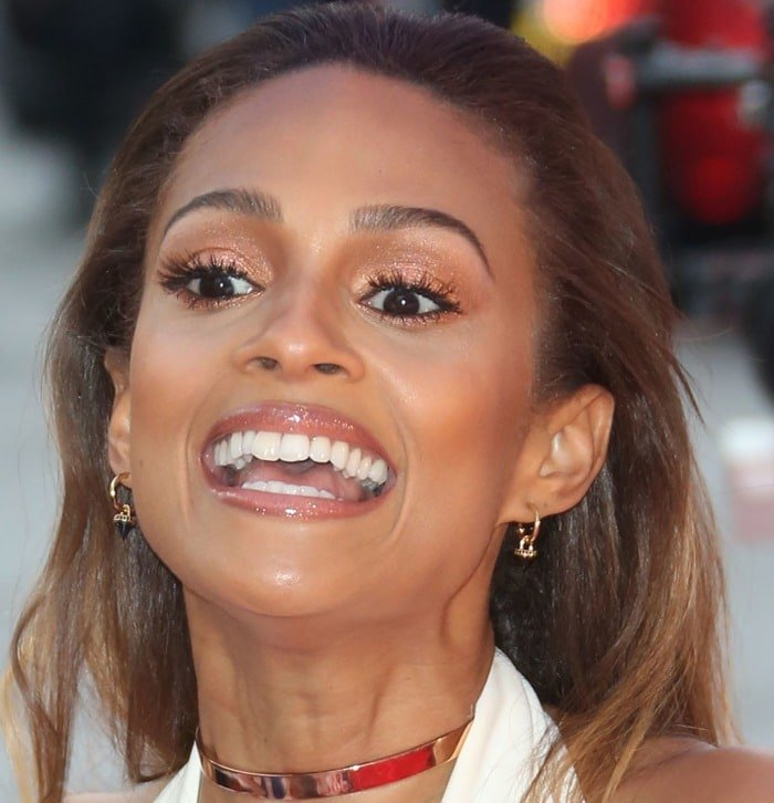 Alesha Dixon at the Britain's Got Talent auditions held at the Birmingham Hippodrome in Birmingham on February 5, 2015