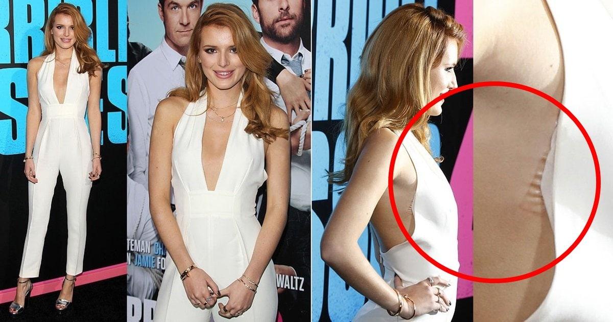 a29a8951c85 Bella Thorne's Wardrobe Malfunction Reveals Hollywood Styling Secret