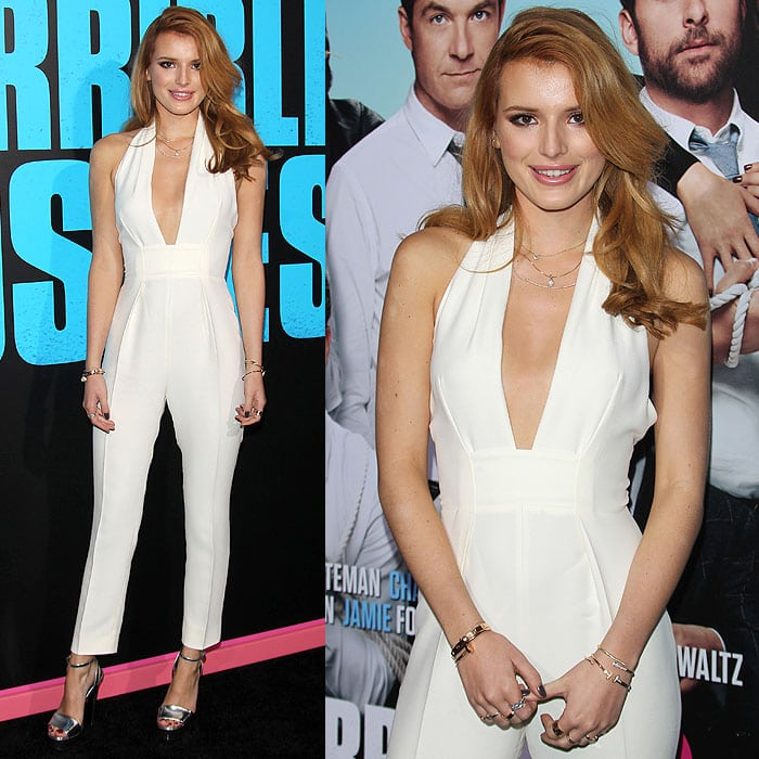 Bella Thorneat the 'Horrible Bosses 2' premiere at TCL Chinese Theatre in Hollywood, California, on November 20, 2014