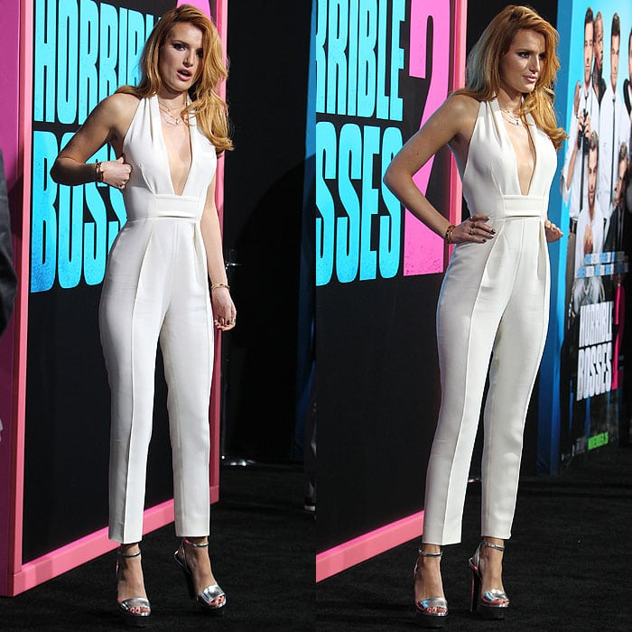 Bella Thorne S Wardrobe Malfunction Reveals Hollywood