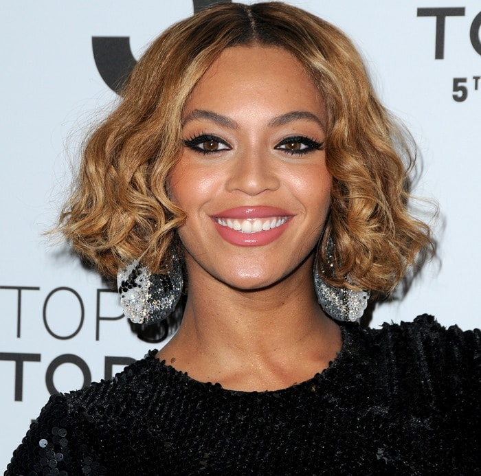 Beyonce at the Topshop Topman Flagship Store Opening at Grand Central Terminal in New York City on November 4, 2014