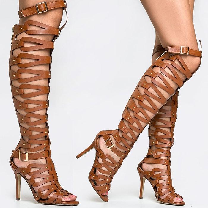 "Breckelles ""Diva-31"" Knee-High GladiatorSandals"