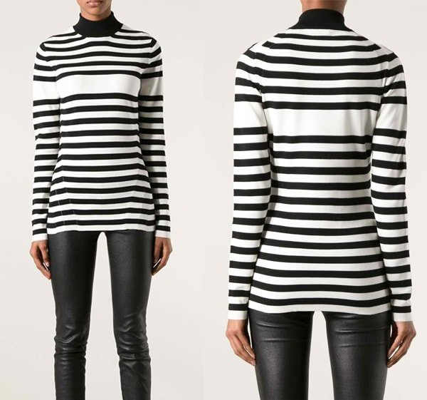 Burberry Prorsum Striped Sweater