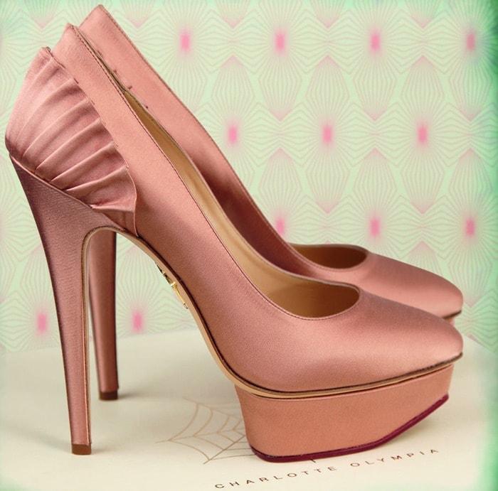 Charlotte Olympia Pink Paloma Pumps