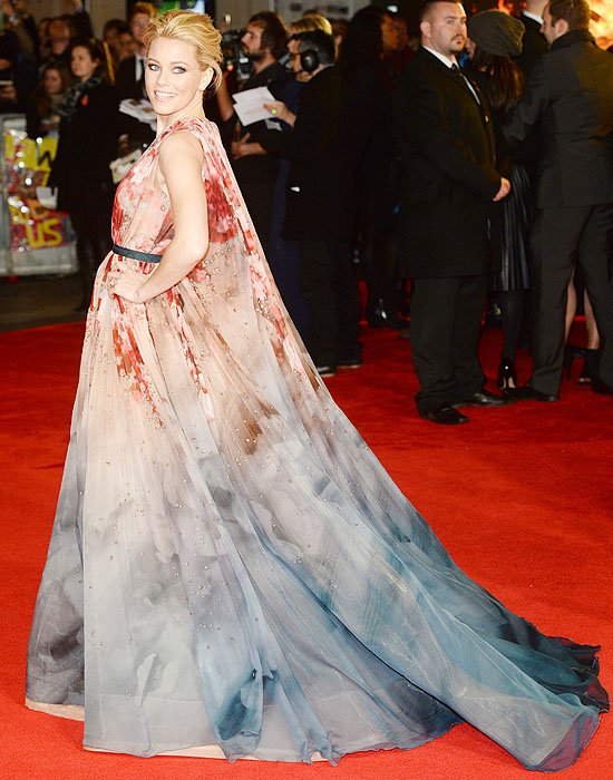 Elizabeth Banks at the world premiere of The Hunger Games:Mockingjay —Part 1 heldat the Odeon Leicester Square in London, England, on November 10, 2014