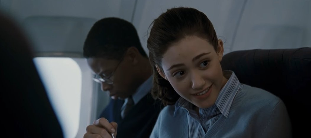 Emmy Rossum was 16 when filming The Day After Tomorrow