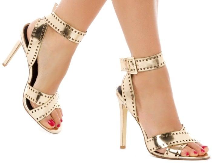 Filme Crisscross Strappy Sandals